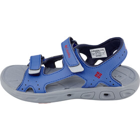 Columbia Techsun Vent Sandalias Niños, stormy blue/mountain red